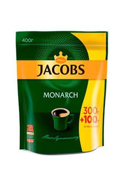 Якобс Монарх Економна Упаковка 400 грам