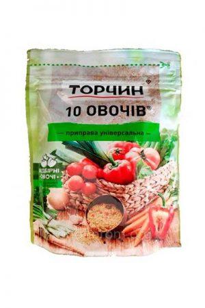 Приправа Торчин 10 овочів 170 грам