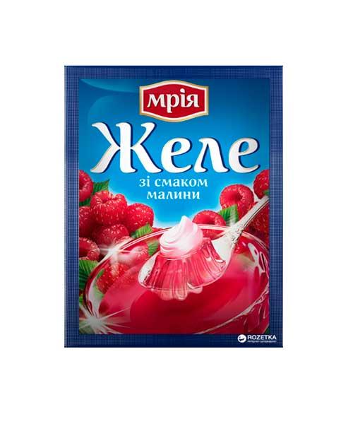 Мрия желе малина 90 грамм